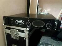 Prosound 1000 pa amp 1000 watt 4 way working!!