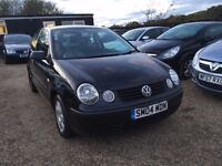VOLKSWAGEN POLO 1.2 TWIST HATCH 3DR 2004*IDEAL FIRST CAR*CHEAP INSURANCE* FULL SERV HIST*HPI CLEAR
