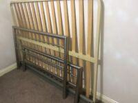 Double bed frame for sale. Immaculate condition. Looks new. £60