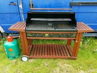 Large reconditioned gas bbq