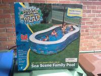 New Inflatable paddling pool