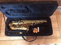 ELKHART 100AS ALTO SAXOPHONE (barely used)