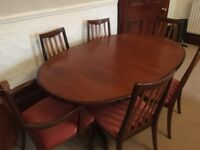 G Plan 6 Seat Dining Table £200