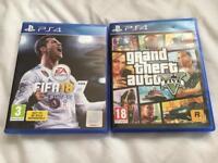 GTA 5 and Fifa 18