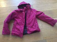 Children pink Ski Jacket Wedze (Decathlon) 10 Y