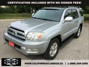 2005 Toyota 4Runner V8 LIMITED! LEATHER! SUNROOF! - 4X4