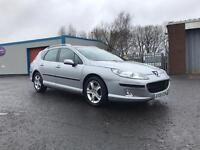 Peugeot 407 **diesel** estate 12 month mot