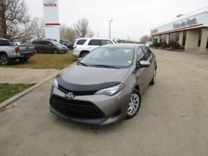 2017 Toyota Corolla LE One Owner, Toyota Certified