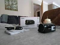 Canon legria hf r77 with wide angle lens