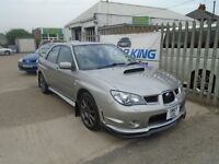 SUBARU IMPREZA 2.5 WRX STi Type UK 4dr (grey) 2007