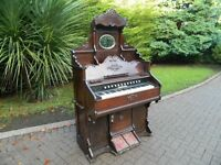 John Malcolm Of London Victorian Pump Organ (1891-1924)