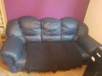 Leather sofa. 3seater