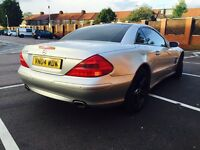 Mercedes SL500 facelift model drives sounds great £ 8000 px welcome