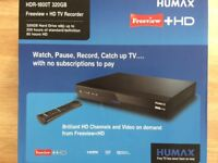 Humax Freeview + HD TV Recorder Model HDR-1800 320GB
