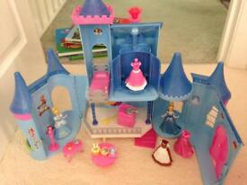 Cinderella magiclip castle