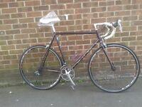 "Raleigh MTRAX CROMO Light Weight Road Bike Racer Racing 24"" (61cm) Frame"