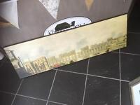 FRAMELESS PRINT/PICTURE OF OLD LONDON BRIDGE