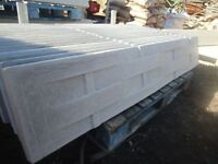 Lattice Concrete Gravel Boards 6ft x 1ft Brand New and Reinforced