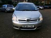 Quick Sale 2007 TOYOTA CORROLL VERSO manual diesel 2.2