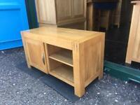 "Oak furniture land ""Alto"" tv unit"