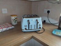 DeLonghi Icona Vintage 4 Slice Toaster REDUCED to £28 !!!