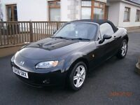 Mazda, MX5, 1.8, 2008, 80K Miles, Full years MOT, Leather Seats