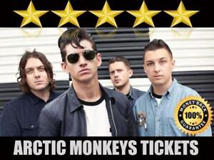 Discounted Arctic Monkeys Tickets | Last Minute Delivery Guaranteed!