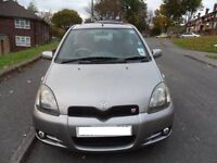 Yaris T Sport - genuine low mileage - 53,200 miles - great car inside and out