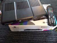 Freesat HD box with bbc iplayer