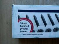 1000x50mm Collated Drywall Screws