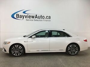 2018 Lincoln Continental Reserve - AWD! REMOTE START! BSA! HT...