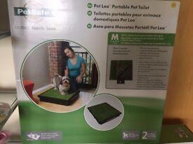 Pet Loo - portable pet toilet