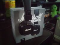 Marshall Major II Headphones - Boxed - As new condition.