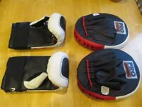 Pro Power Pads and a pair of Boxing Gloves good condition