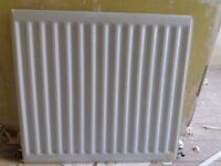 Seven different sized single panel radiators