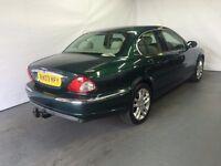 Jaguar X-Type 2.1 Petrol V6 S 2003 (03) Green 4 door Saloon £899 LONG MOT 07398146529 SPARE REPAIRS