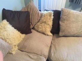 Left Hand Sofa As Shown