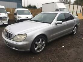Mercsede S320 CDI 2002 low miles