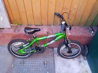 16 inch boys bmx style bike