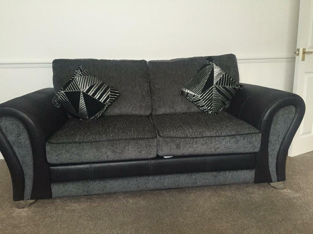 Dfs Audio Cuddler And 2 Seater Sofa In Cambuslang