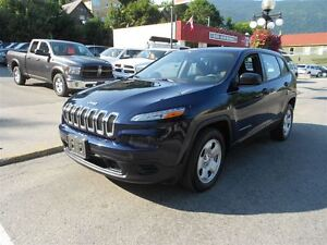 2014 Jeep Cherokee SPORT FWD, BLUE TOOTH
