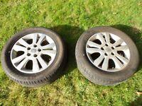 "Vauxhall Alloys 16"" c/w tyres"