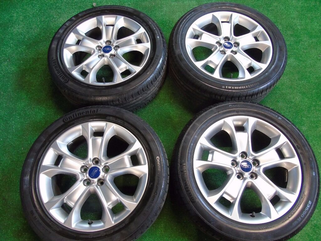 Ford Kuga  Inch Alloy Wheels With Continental Tyres  R