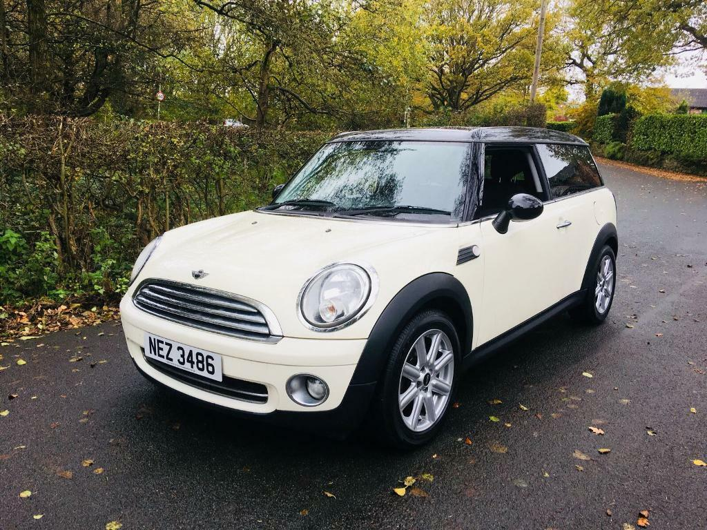 2008 mini clubman 1 6 cooper pepper white in stockport manchester gumtree. Black Bedroom Furniture Sets. Home Design Ideas