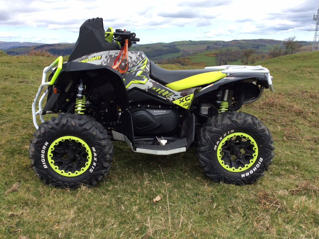 can am renegade 1000 xxc in llanfyllin powys gumtree. Black Bedroom Furniture Sets. Home Design Ideas