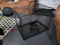 """Dog crate Large 30"""" Ellie-Bo"""