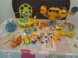 Octonaut toy bundle