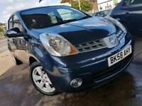NISSAN NOTE AUTOMATIC 2008