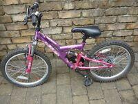 Girls Apollo Bike 18 inch wheel