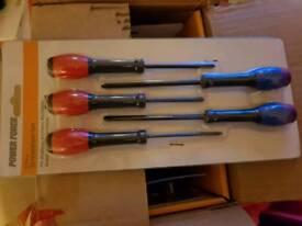 12 × packs of 5 screwdrivers
